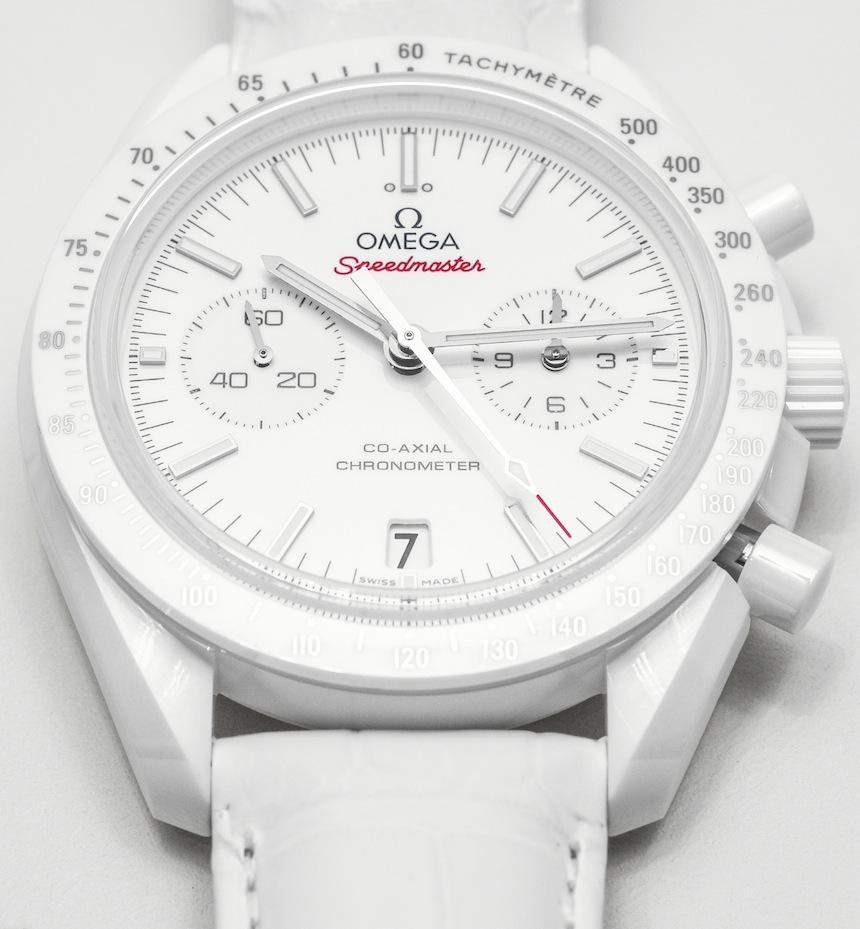 Omega Speedmaster Bianco side-luna Orologio da polso Replica