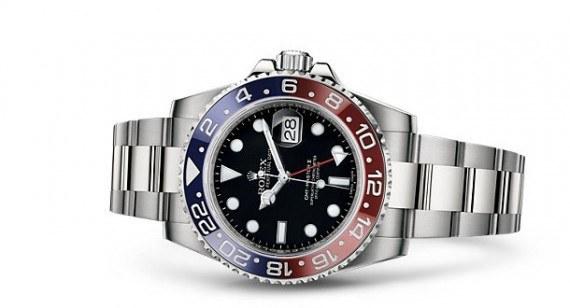 Repliche Rolex GMT-Master-II blu rosso