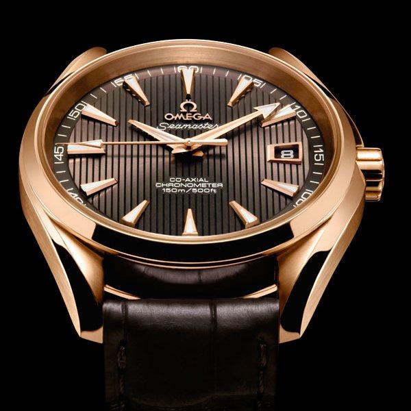 Orologio Omega Seamaster Qqua Terra Chronometer Rosso in Oro Rosso