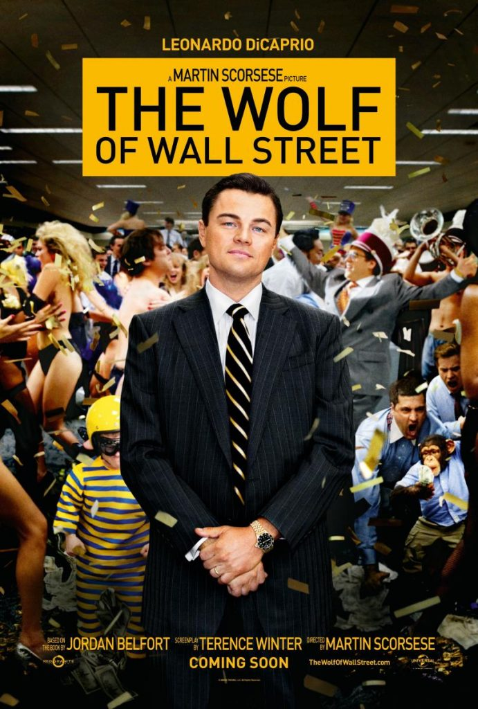 DiCaprio Tag Heuer Wall Street