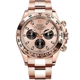 Rolex Daytona Cosmograph Orologio In Oro Rosa